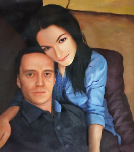 Hand Painted Oil Portraits from your Photos