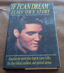 """Book: """"If I Can Dream"""" Elvis' Own Story, 1989 Kitchener / Waterloo Kitchener Area image 1"""