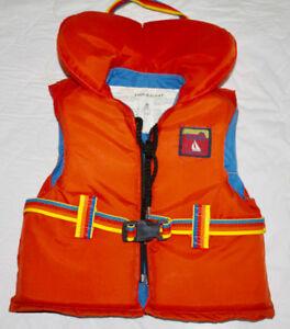 Veste de flottaison pour enfants pour $35. LIVRAISON INCLUSE