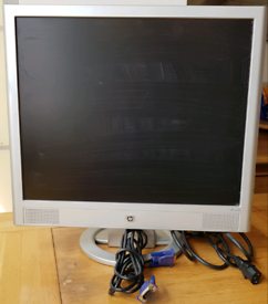 HP 19inch TFT monitor, has built in speakers. VGA connection.