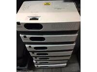 job lot x7sanyo xga projector plc-xw250 LOW HOURS!