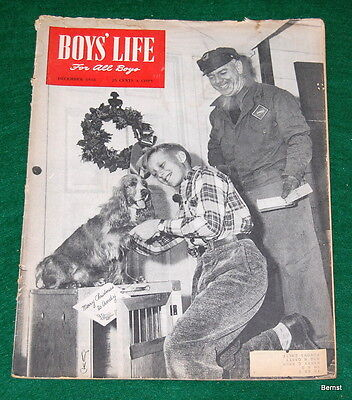 VINTAGE BOY SCOUT- 1948 BOYS' LIFE - DECEMBER