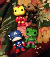 Marvel POP figures