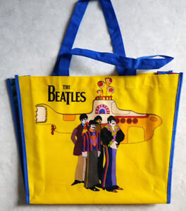 BEATLES YELLOW SUBMARINE TOTE BAG - COLLECTIBLE / memorabilia