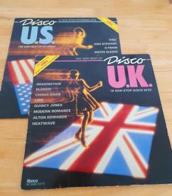 Disco U.K & Disco U.S Original Vinyl L.Ps