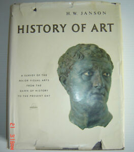 History of Art H. W. Janson - Hard Cover with Dust Jacket