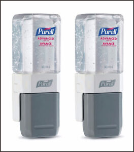 2 New Hand Sanitizers 450 ml (ADVANCED PURELL EVERYWHERE SYSTEM)