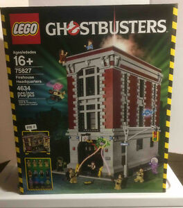 Ghostbusters Lego Firehouse Headquarters Complete set
