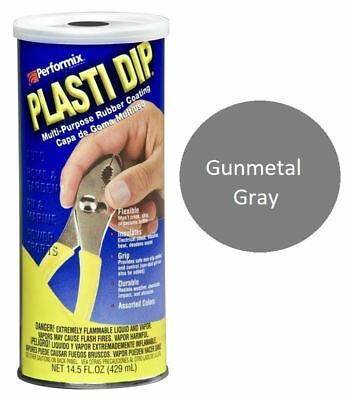 Gray 14.5oz Performix Plasti Dip Plastic Multi Rubber Grip Coating Handle Grey