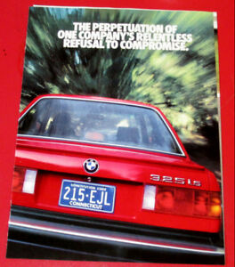 FANTASTIC 1987 BMW 3 SERIES COUPE SEDAN 325I CONVERTIBLE  AD