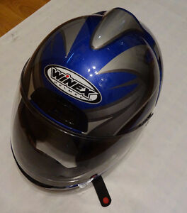 Winex Motorcycle Helmet Like New