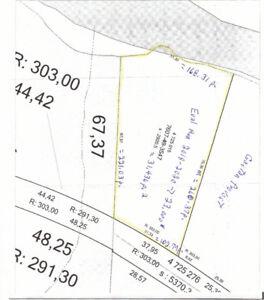 Terrain de 31 436 pi. ca. à vendre à la campagne