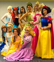 Princess Ariel, Belle, Elsa, Tiana, Repunzel and More!