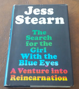 The Search for the Girl With the Blue Eyes, Jess Stearn, 1968 Kitchener / Waterloo Kitchener Area image 1