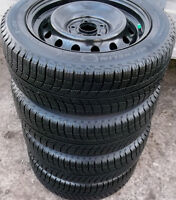 205 55 16 - MICHELIN Xi3 - SNOW TIRES ON RIMS - 5x114.3 - CIVIC