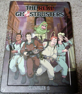 The Real Ghostbusters Volume 1 In Special Tin Case