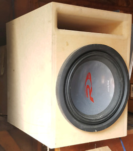Alpine subwoofer and ported box