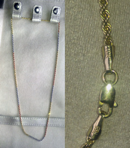 R&B Jewellers 10K necklace.
