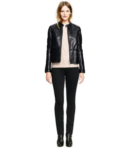 Tory Burch faux reversible leather jacket