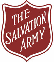 The Salvation Army is looking for buttons.