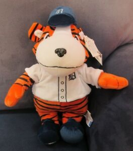 "Detroit Tigers 14"" ""Paws"" Mascot"