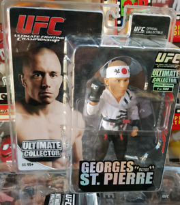 BRAND NEW UFC Ultimate Collector figure George St Pierre GSP