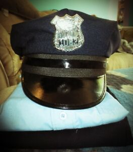 Child's police officer's outfit size 7-8 for sale