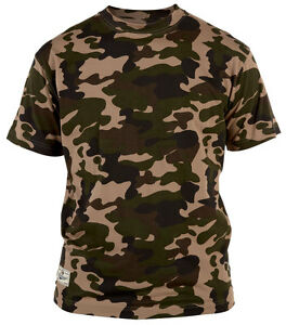 NEW-Mens-Big-Size-Duke-Camouflage-T-Shirt-3XL-4XL-5XL-6XL-Jungle-or-Urban