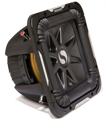 Kicker S12L7 D4 Car Audio Square L7 12