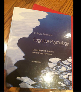 Cognitive psychology fourth edition by Goldstein