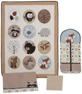 Carters Woodland/Forest and Friends Crib Bedding