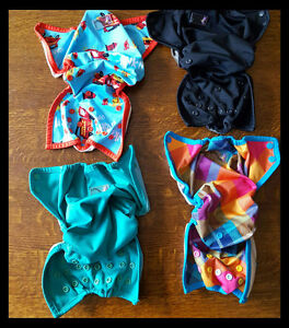 4 Rumparooz Diaper Covers
