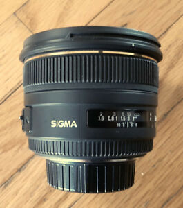 Sigma 50mm F1.4 EX DG Lens for Nikon