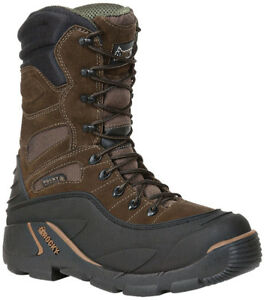 Rocky Blizzard Stalker Pro 1200g Brown Boot Size 8, New