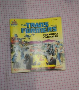vintage Transformers book