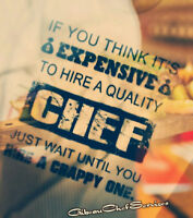 Chef's or Home Cooks or Businesses or Temporary Staffing's