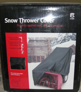 Snow Blower Cover - fits most 2 stage