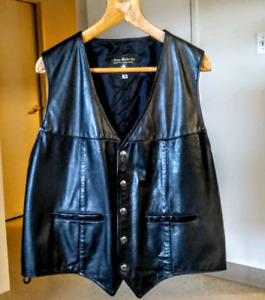 Mens leather jacket.