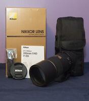 Nikon AF-S 300mm F/4D IF-ED - Like New