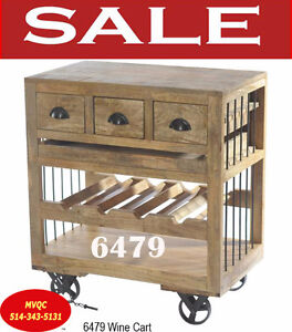6479, wine cart cabinets, curios & china cabinets, meuble valeur