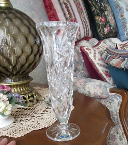 Czech Republic BOHEMIA Crystal Vase