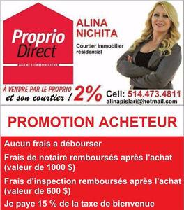 Promotion Acheteur d'une propriété