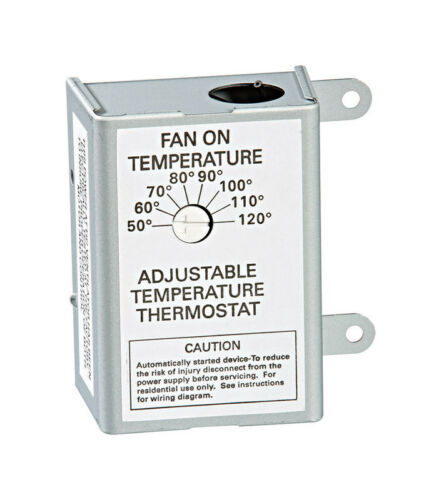 Air Vent #58033 Single Speed ADJ Thermostat,No 58033,  Air Vent Inc.