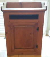 Amish Pine Microwave Stand
