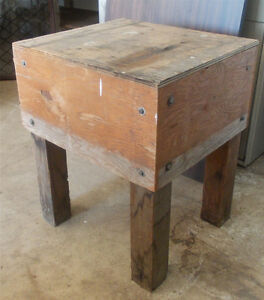 BUTCHER BLOCK. GREAT FOR SHOP.