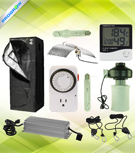 Indoor Garden/Hydroponics Full Grow Kit - Light, Tent, Fan
