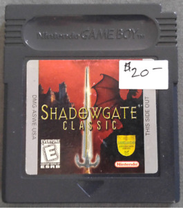 Gameboy color game Shadowgate Classic