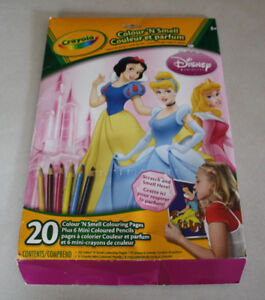 20 Disney Princess Colour and Smell Scenes