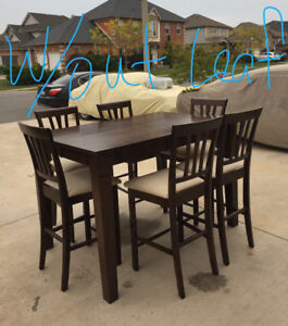 Tall table set with 8 chairs✅✅✅