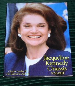 Jacqueline Kennedy Onassis by Charles Lawliss (1994, Hardcover)